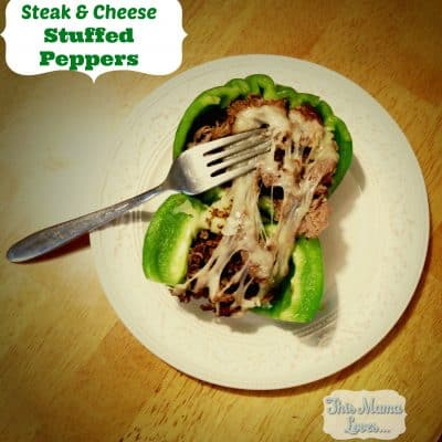 Steak and Cheese Stuffed Peppers Recipe