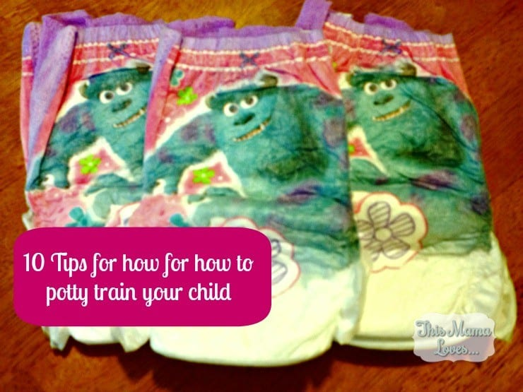 tips for how to potty train your child