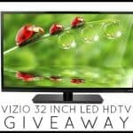 vizio 32 inch led hdtv giveaway
