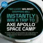 walmart axe space camp