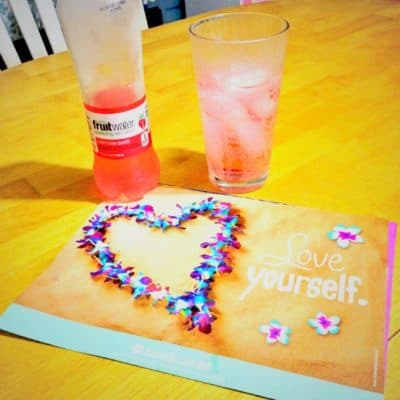 Sparkle on every day with Glaceau fruitwater #sparklingtruth #ad
