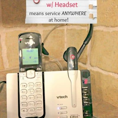 Hands Free Cordless Phone from VTech  #VTechConnect #ad