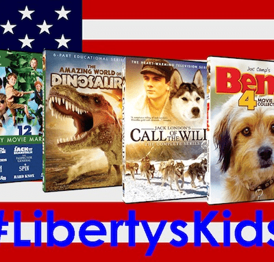 Celebrating the Fourth of July  with Liberty's Kids #LibertyKids (Prize Pack Giveaway)