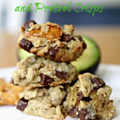 Oatmeal Chocolate Chip Cookies with Pretzels and Avocado Recipe