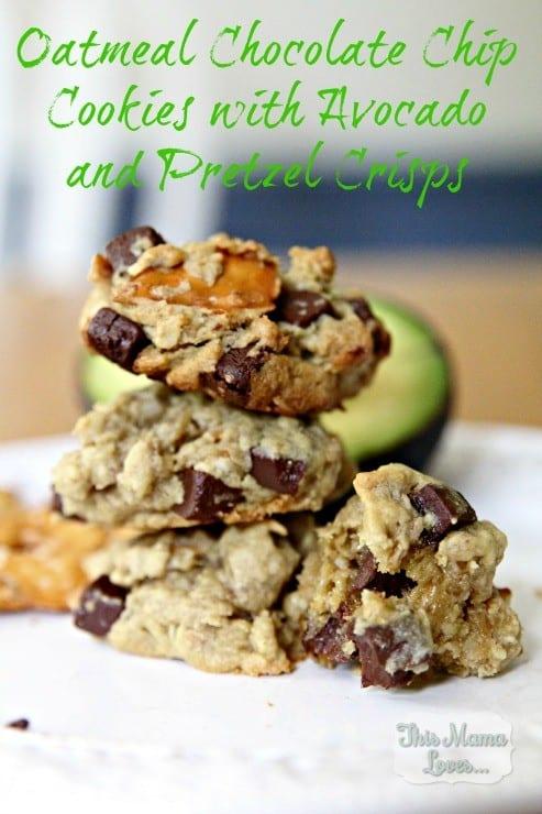 oatmeal-chocolate-chip-cookies-with-avocado-pretzel-crisps-recipe