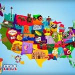 play-doh states of america