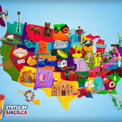 Play-Doh from sea to shining sea – #win some goodies from in between! (Giveaway)
