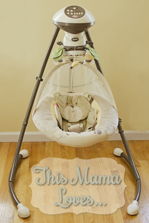 Fisher Price Snug A Bear Cradle Swing This Mama Loves