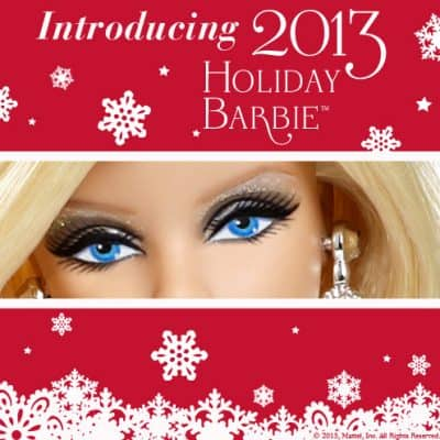 25 years of the holiday Barbie doll  #HolidayBarbie