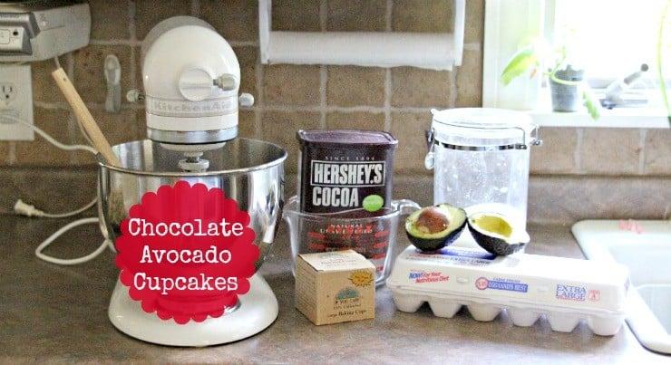 chocolate-avocado-cupcakes