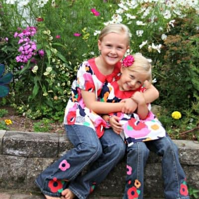 Pretty Poppies for Back to School ($100 Gymboree Giveaway)
