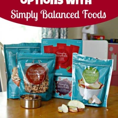 Healthy Snack Options from Simply Balanced