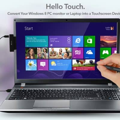 Make your laptop a touch screen laptop with APEN Touch 8