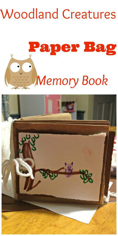 Woodland Creatures Baby Shower Invitations and Memory Book