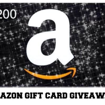 $200 Amazon #giveaway