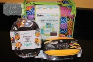 Litter Free Lunch Kit and Seriously Safe Stainless Steel