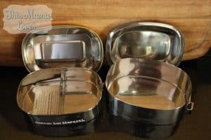 Seriously Safe Stainless Steel food containers