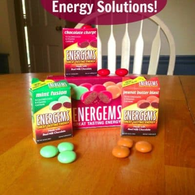 Easy energy solutions taste great with Energems #Energems #ad