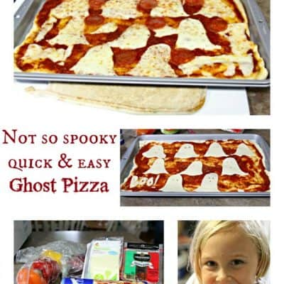 Quick and Easy Meal Ideas: Ghost Pizza