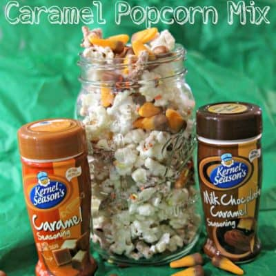 Milk Chocolate Caramel Popcorn Mix