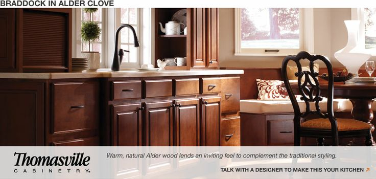 Ideal open shelving cabinetry