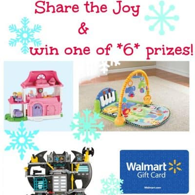 Share the {Holiday} Joy with Fisher Price! #sharethejoywmt (Giveaway 6 winners)