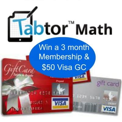 Need a math tutor? Check out Tabtor!