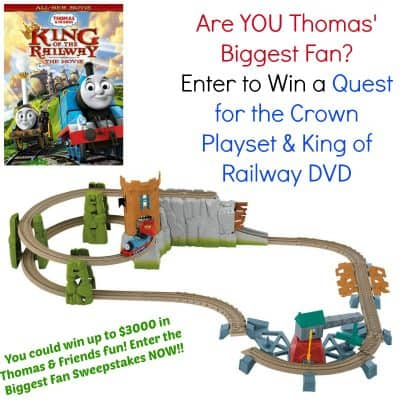 Are YOU the biggest Thomas the Train fan? (Prize Pack #Giveaway)