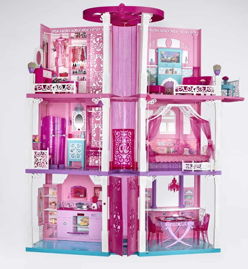 Barbie 39 S Moved Into The New Barbie Dream House