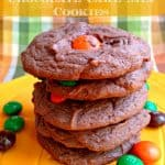 Pumpkin-spice-mm-chocolate-cookies