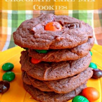 Pumpkin Spice M&Ms Chocolate Cookie Recipe