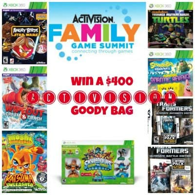 Come to the Activision Family Game Summit #ATVIFamGames