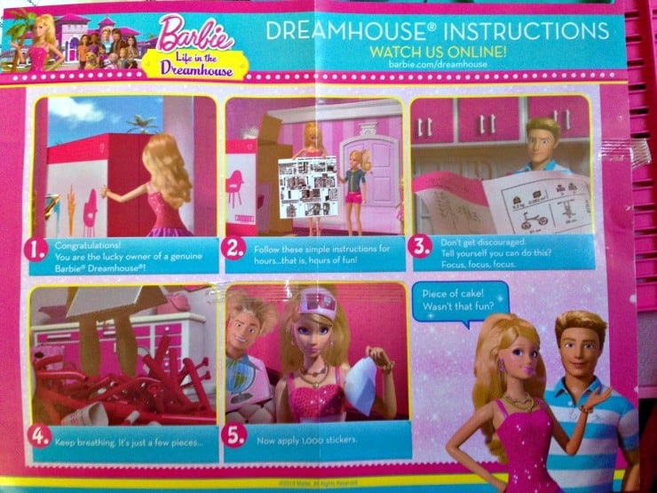Barbies Moved Into The New Barbie Dream House Barbieismoving