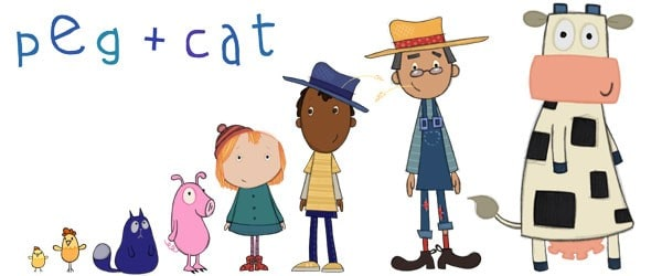 Pbs Kids Characters And Names Peg + Cat Preschool Se...