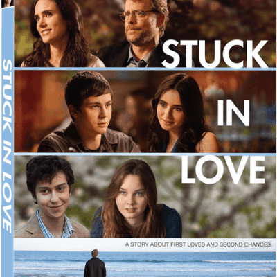 Stuck in Love on DVD October 8! #giveaway 5 winners