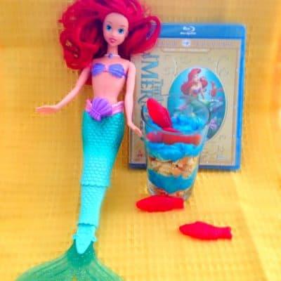 Under the Sea Parfait Recipe (The Little Mermaid Inspired)
