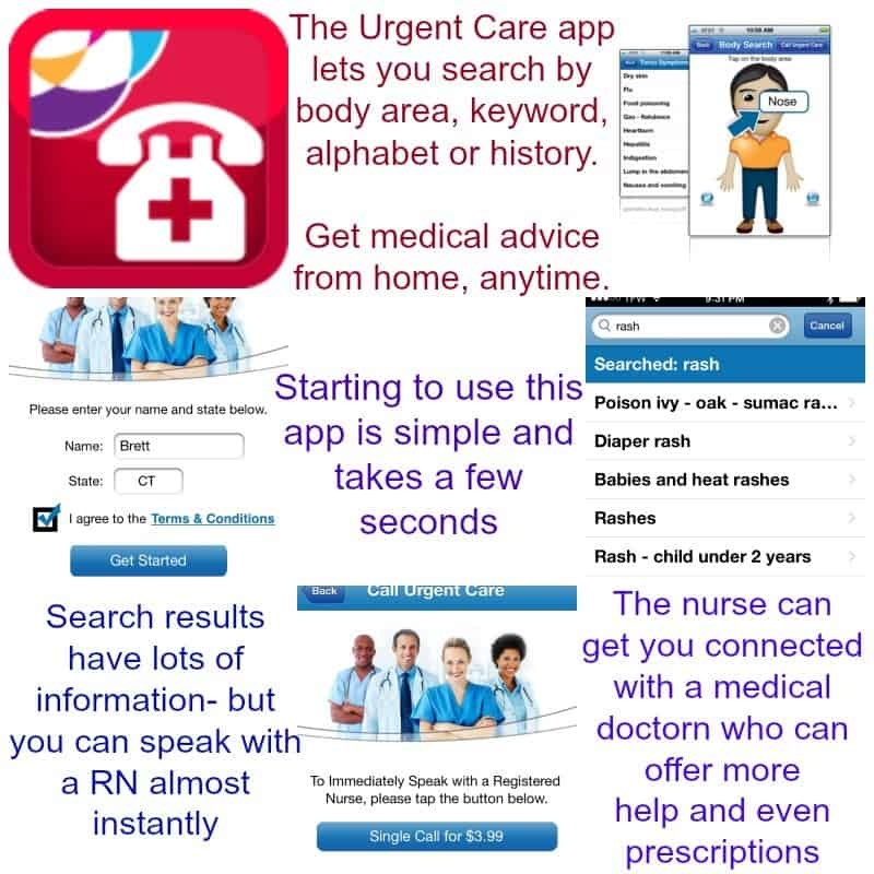 urgent-care-app-collage-#urgentcareapp