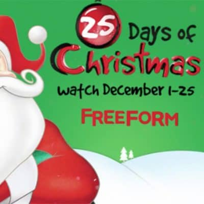 Freeform's 25 Days of Christmas 2018 Schedule