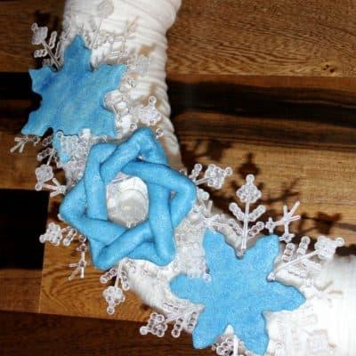 Star of David Salt Dough Ornaments