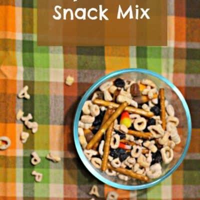 Fall Snack Recipe: Alpha-Bits Snack Mix #AlphaBits
