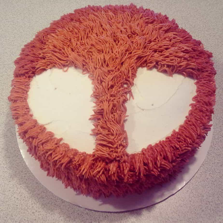 fox cake face