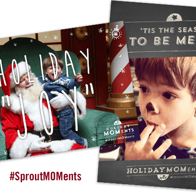 Celebrating holiday MOMents with Sprout #SproutMOMent #CleverGirls #CGC