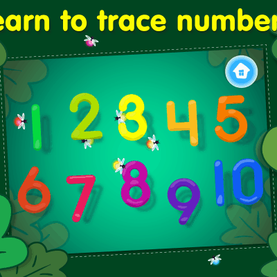 123 Tracing App Helps Kids Learn to Write Numbers