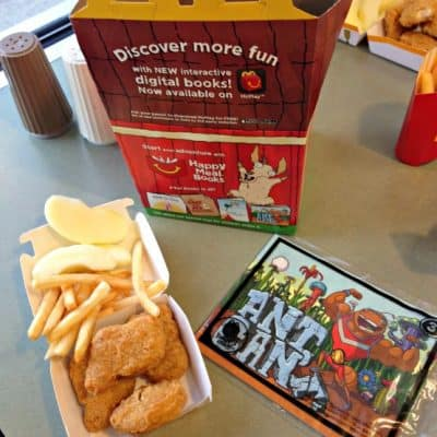 McDonald's adds books to Happy Meals! #HappyMealBooks