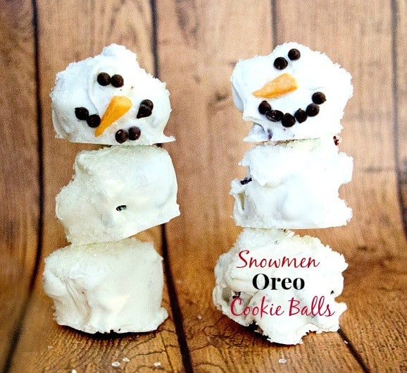 oreo-cookie-ball-snowmen-#cookieballs