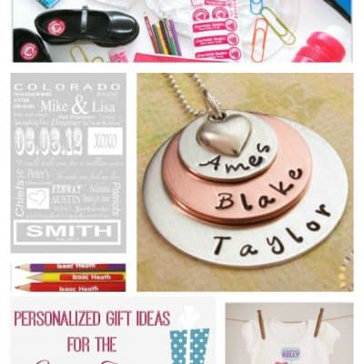 Personalized Gift Ideas for the Whole Family #GiftsbyBSK