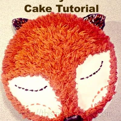 """What Does the Fox Say"" Cake Tutorial"
