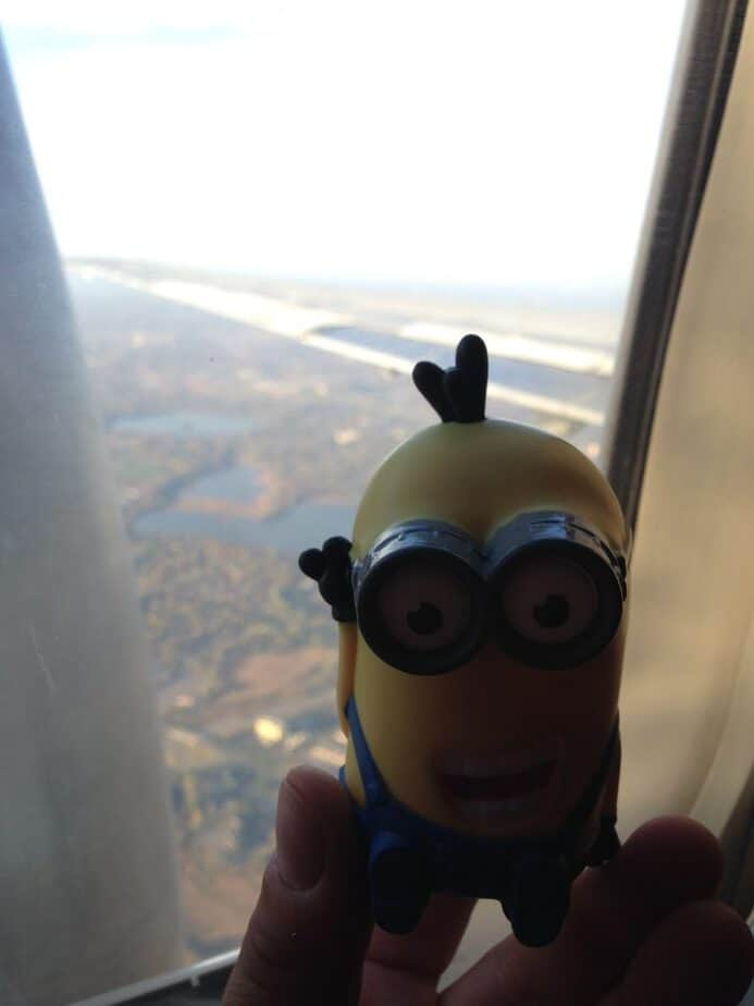 Minion-flies-to-Seattle