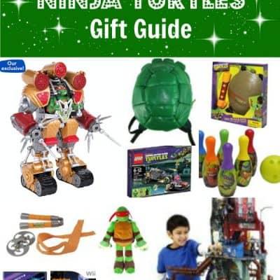 Teenage Mutant Ninja Turtles Gift Ideas