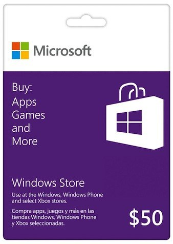 Windows-app-Gift-Card